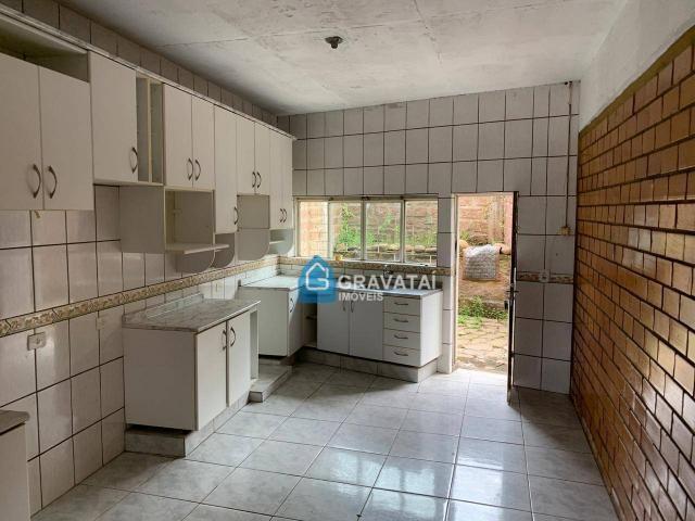 Casa com 2 dormitórios para alugar, 75 m² por R$ 900,00/mês - Salgado Filho - Gravataí/RS - Foto 3