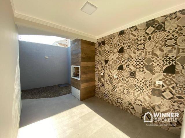 Casa com 3 dormitórios à venda, 105 m² por R$ 480.000,00 - Jardim Real - Maringá/PR - Foto 12