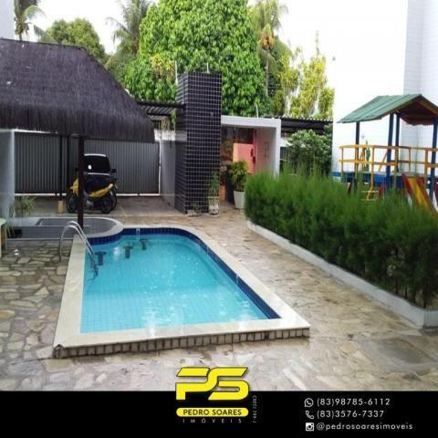 Apartamento com 3 dormitórios à venda, 85 m² por R$ 220.000 - Jardim Cidade Universitária  - Foto 3