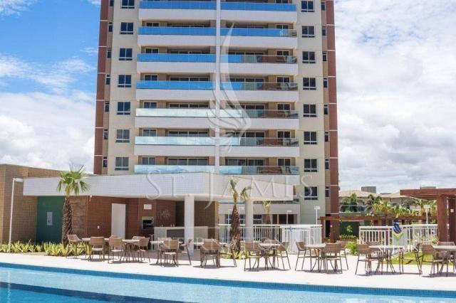 Apartamento com 3 dormitórios à venda, 100 m² por R$ 836.077,74 - De Lourdes - Fortaleza/C - Foto 2