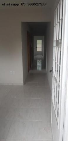 Casa para Venda em Várzea Grande, Jardim Paula 2, 2 dormitórios, 1 banheiro - Foto 2