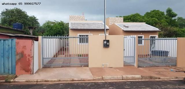 Casa para Venda em Várzea Grande, Jardim Paula 2, 2 dormitórios, 1 banheiro - Foto 3