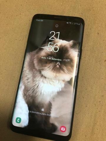 Samsung S9 - Acompanha Caixa, Fone, carregador, nota. aceito troca