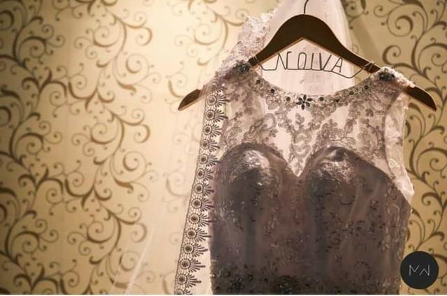 Vestido de Noiva + Véu - Foto 2