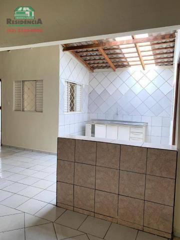 Casa com 2 dormitórios para alugar, 68 m² por R$ 450/mês - Vila Góis - Anápolis/GO - Foto 8