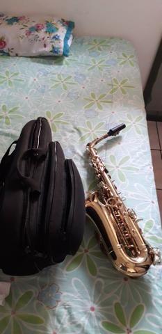 Sax alto novíssimo lindo - Foto 5
