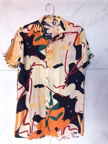 Camisa de Botão R$30 P/M/G - Foto 2