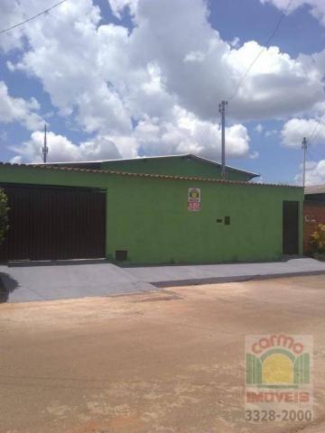Casa com 3 dormitórios para alugar, 150 m² por R$ 950/mês - Jardim dos Ipês - Anápolis/GO