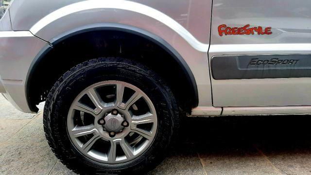Ford ecosport xlt freestyle motor 1.6 8v flex 4p prata 2012 74.000km ipva2020pgvist - Foto 7