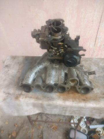 Carburador werber 1.6 álcool AP e coletor admissão escape gol quadrado - Foto 15