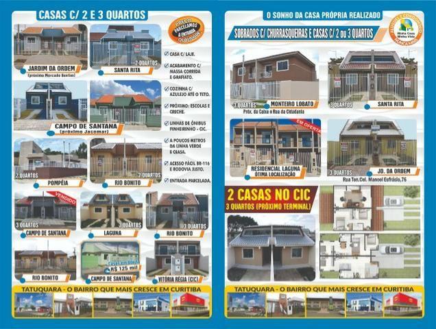 EC-Casas Use seu FGTS-Tatuquara/Campo de Santana/Rio Bonito-Imobiliaira Pazini - Foto 2