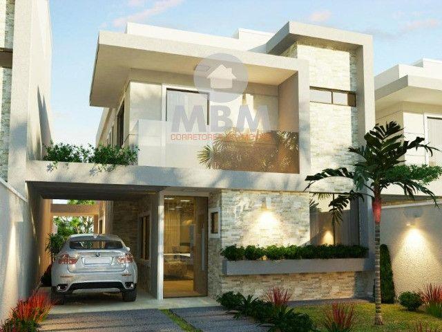 Vendo casa alto padrão em rua privativa no Eusébio. 180 m² com 4 suítes