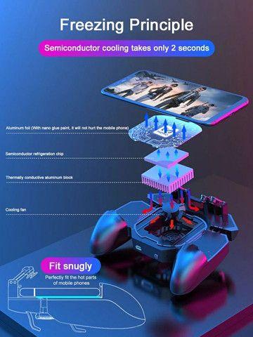 Gamepad 4 gatilhos refrigerado - Foto 3