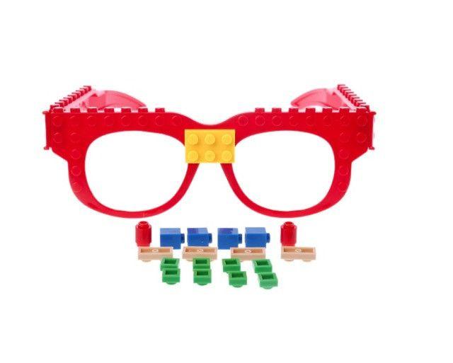 Óculos Lego + Pecinhas De Brinde Bloco De Montar Educativo - Foto 2