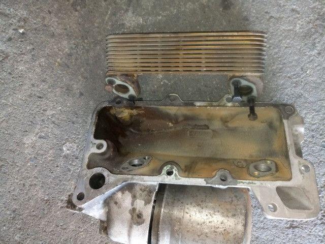 Resfriador e radiador de oleo motor usado bom estado 447 e 449 - Foto 3