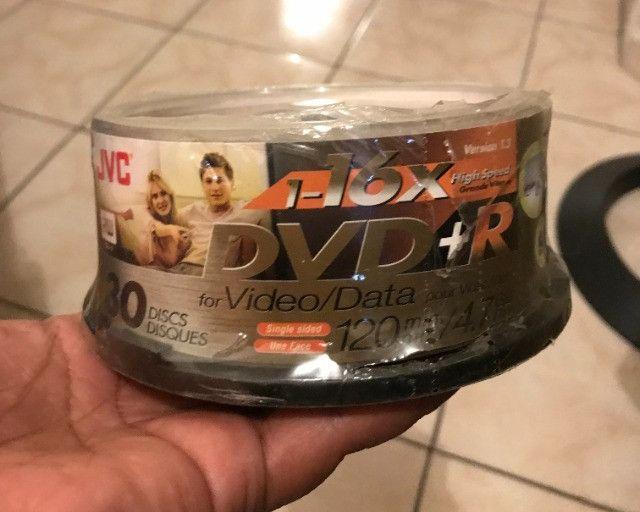 Dvd+r rw lacrado, com 30 unidades - Foto 2