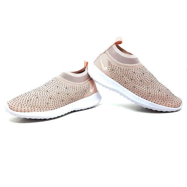 Nike Slip Strass Feminino - Foto 4