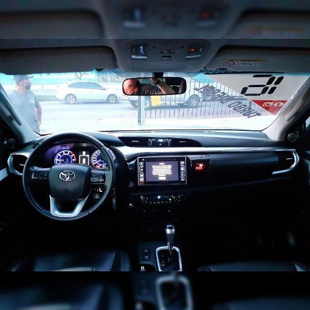 Toyota Hilux Cd Srv Automático 2016 Turbo Diesel  - Foto 9