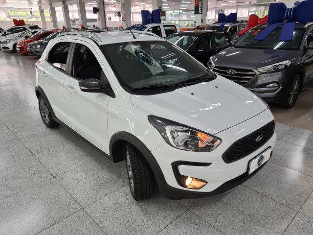 Ford KA FreeStyle 2020 1.0 completissimo Top de Linha! (25 mil KM) - Foto 9