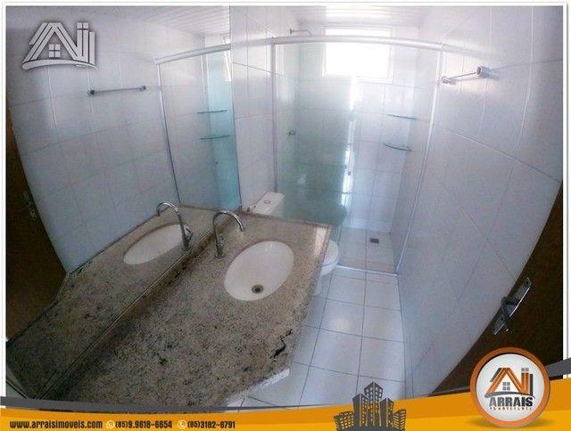 Apartamento com 3 dormitórios à venda, 118 m² por R$ 300.000,00 - Vila União - Fortaleza/C - Foto 4