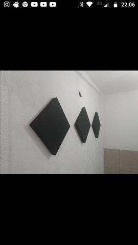 Kit com 4 painéis absorvedores