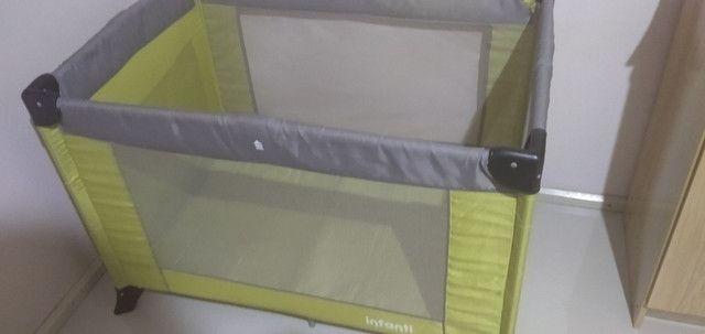 Berço portátil semi novo  - Foto 2