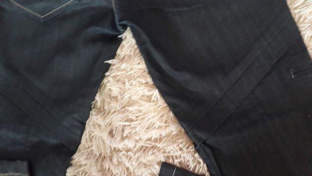 Calça jeans maravilhosa de marca usada 2 vezes super nova número 38 - Foto 5