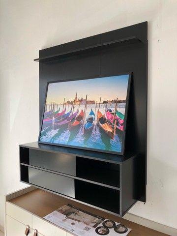 Painel tv até 50 polegadas preto