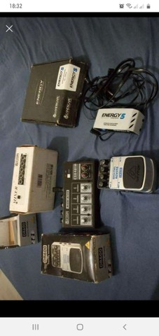 Vendocou troco kit de equipamento musical - Foto 4