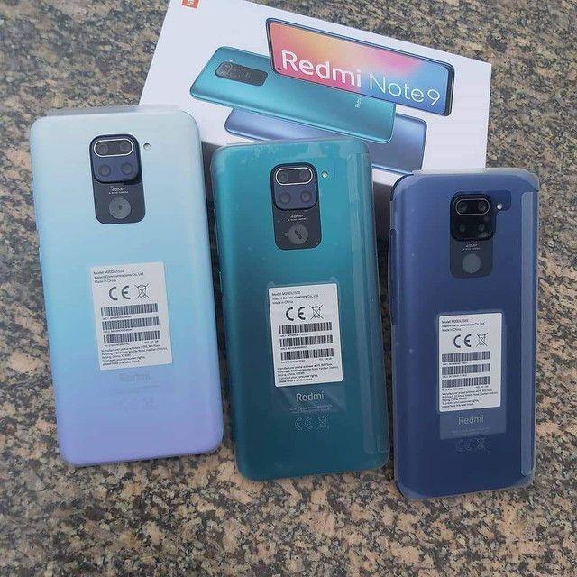 Mais vendido do momento - Smartphone Xiaomi Redmi Note 9 , são 64 Gigas de memória  - Foto 2