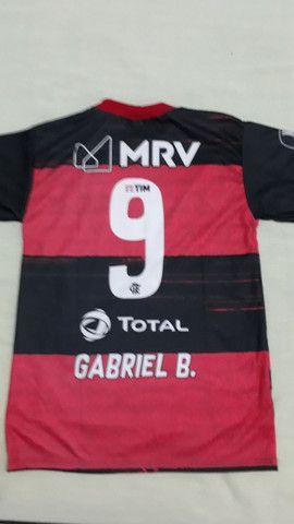 Camisa Flamengo infantil 6 e 12anos  - Foto 4