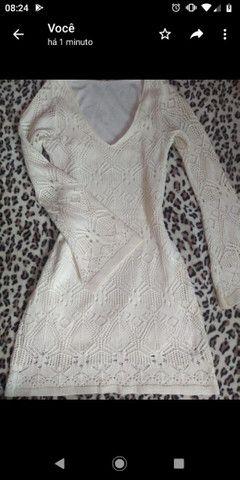 Vestido de tricô - Foto 3