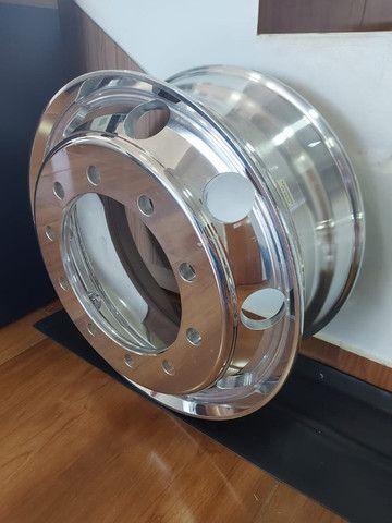 Roda de Alumínio Ital R22,5 e R17,5 - Produto Novo - Foto 3