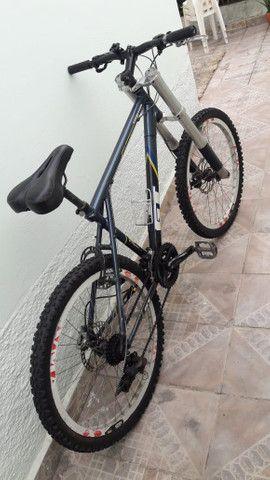 Bicicleta gt so hoje baixei o preco metade do valor da nota - Foto 3