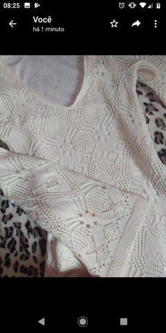 Vestido de tricô - Foto 4