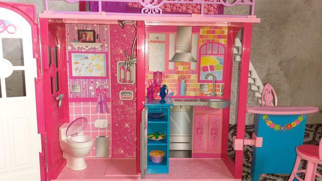 Casa da barbie (grande e pode levar para qualquer lugar!) - Foto 4