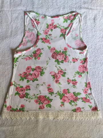 Blusinha feminina, tamanho M - Foto 4