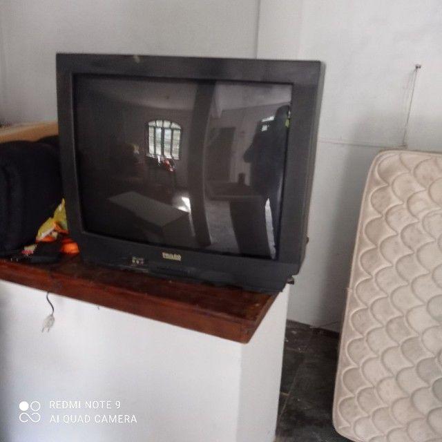 Tv tubo 34 polegadas sem controle e sem conversor ótima  - Foto 4