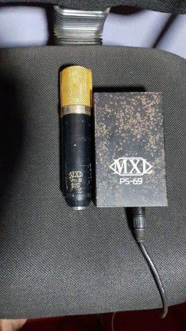 Microfone Valvulado Mxl-v69 Mogami Edition<br><br><br> - Foto 3