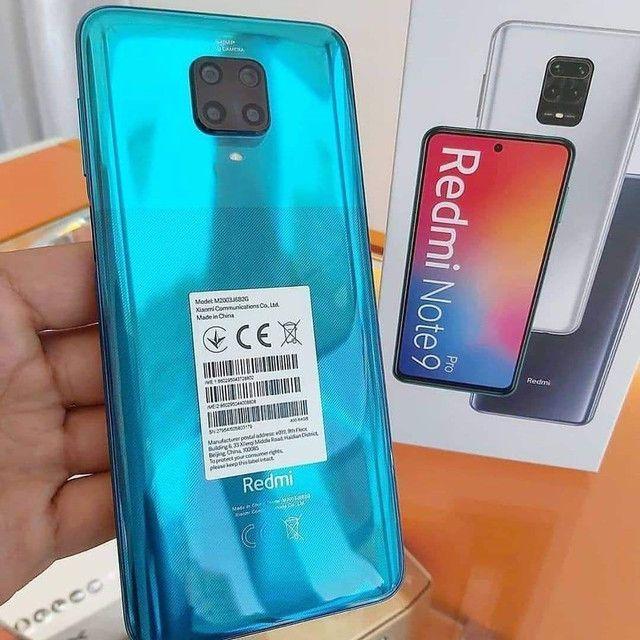 Lindo Smartphone e potente Celular Xiaomi Redmi Note 9 Pró  - Foto 2