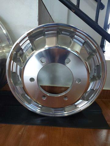 Roda de Alumínio Ital R22,5 e R17,5 - Produto Novo - Foto 6