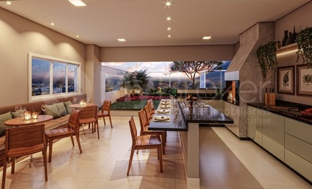 Apartamento  com 3 quartos no DUO SKY GARDEN - Bairro Parque Amazônia em Goiânia - Foto 11