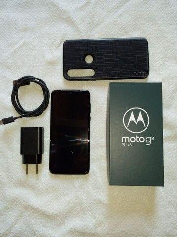 Motog8 plus com nota fiscal. - Foto 2