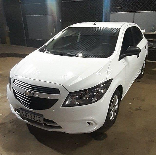 Chevrolet Onix joy , 1.0 completo 2019 branco - Foto 2