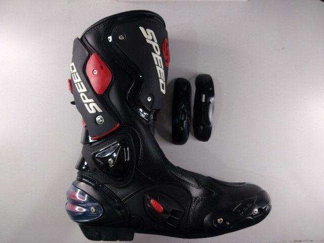 Bota Motociclista Speed Racing - Nova ( Nunca Usada )