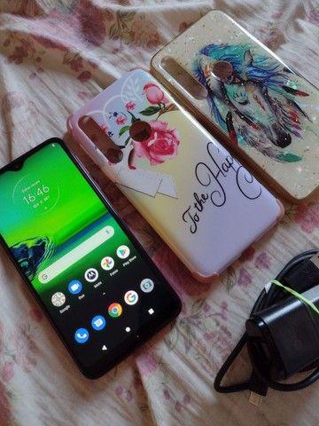 Moto g8 play 32 GB ACEITO CARTÃO - Foto 6