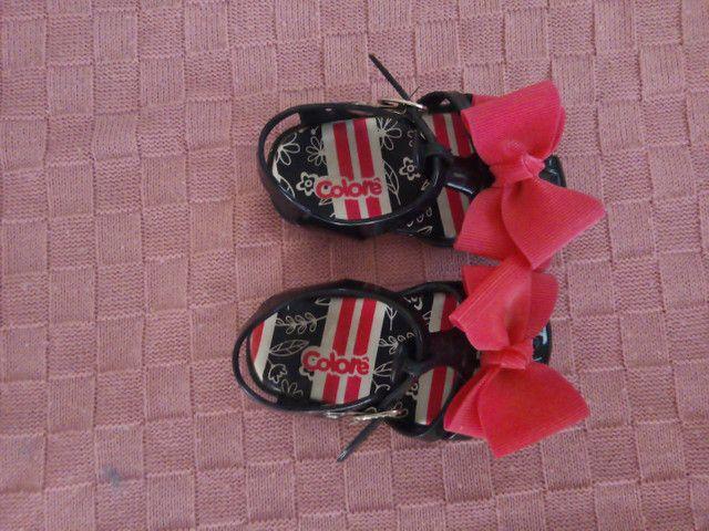 PROMOÇÃO!!! Sandália infantil Nova