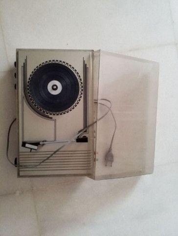 Som Vinil Frahm com caixas de som originais, consertar motor e colocar agulha - Foto 2
