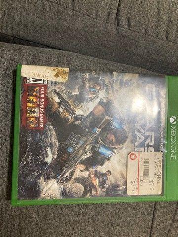 Jogo gears of War 4 Xbox funcionando