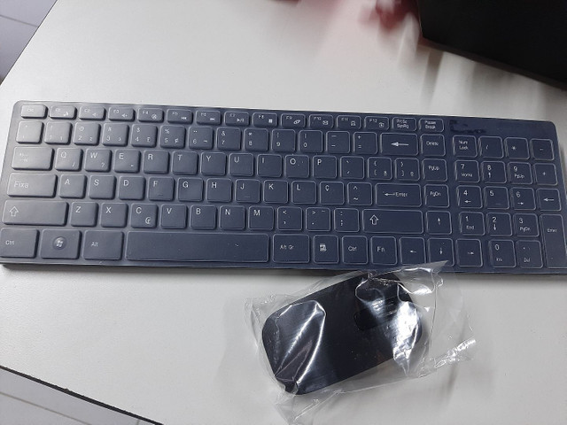 Teclado + Mouse Wireless
